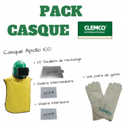 Pack Casque Clemco