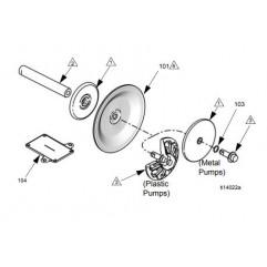 Kit Membranes Husky 1050 TPE Graco