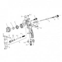 Bouchon Pistolet AZ3 HTE 2 Iwata 93625370