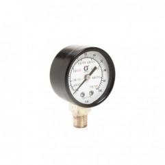 Manomètre Air basse pression montage latéral Graco 110436 100960
