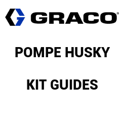 Kit Guides Husky 515 - Acier Inoxydable (D05300) Graco